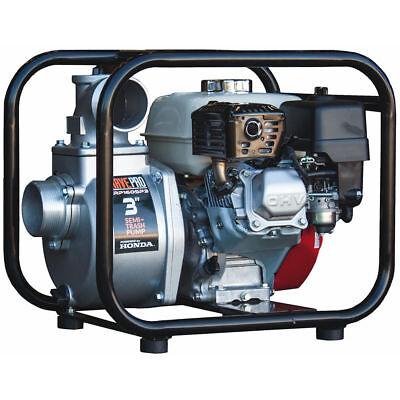 Brave Pro Brp160sp3 - 259 Gpm 3 Semi-trash Water Pump W Honda Gx Engine