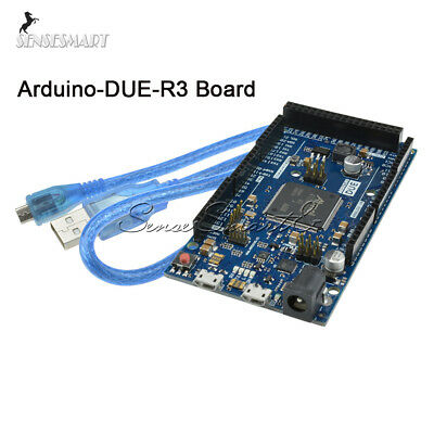 Due R3 Control Board Sam3x8e 32-bit Arm Cortex-m3 Module Usb Cable For Arduino