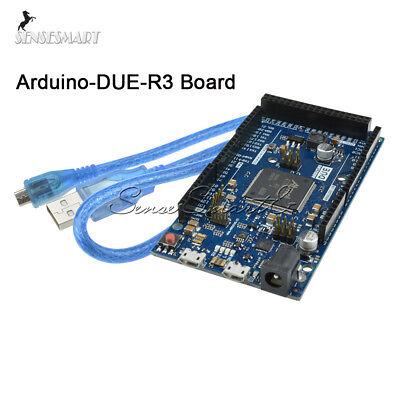 Due R3 Control Board Sam3x8e 32-bit Arm Cortex-m3 Module Usb Cable For Arduino