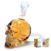 Crystal Head Skull Bottle
