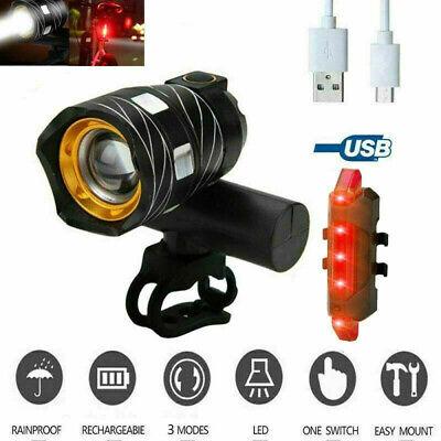 LED Lámpara 15000LM de bicicleta luz delantera y trasera para ciclismo Carreras