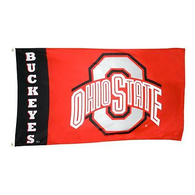 Ohio State Buckeyes 3' x 5' Collegiate Licensed Annin Flag w