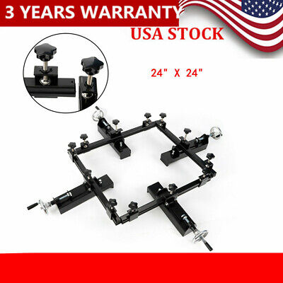 Manual Screen Stretching Machine High Precise Frame Screen Stretcher 60x60cm Us