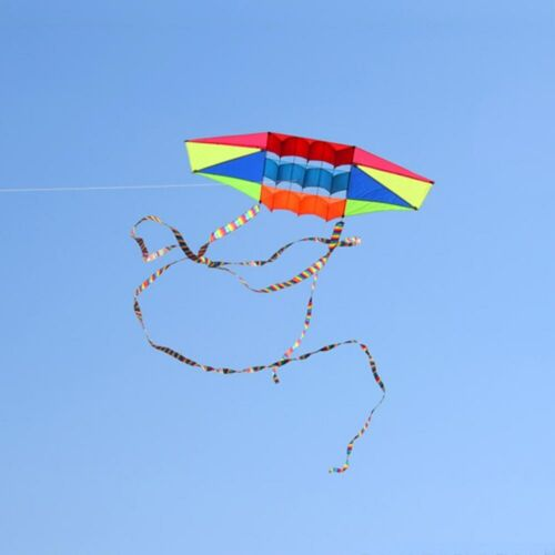 New Large Radar kite with long tail adults outdoor toys Handle and kites line