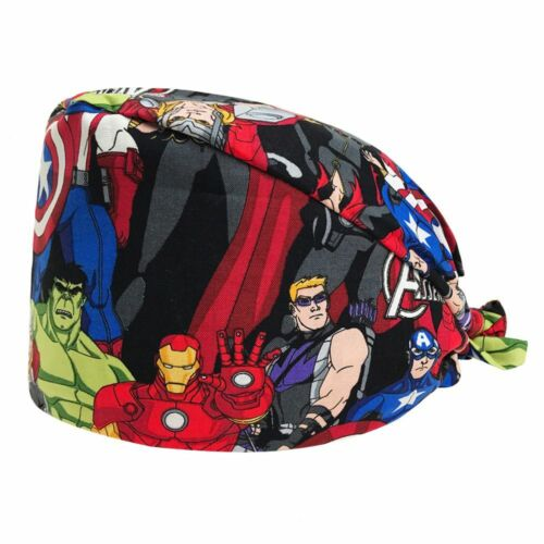 New Surgical Caps Women And Men Operating Room Hat Printing Cartoon