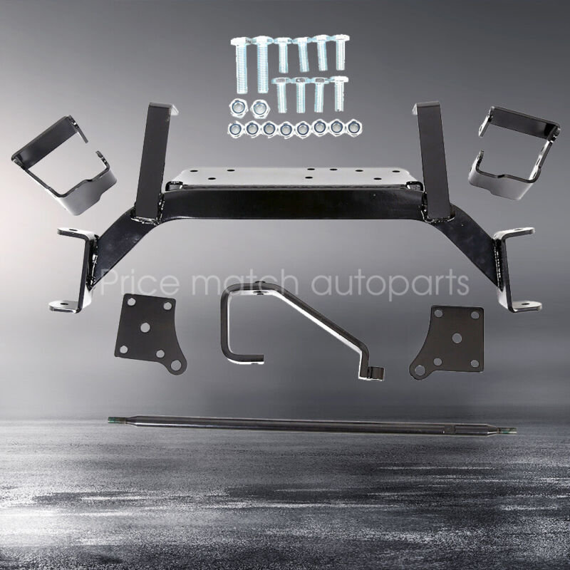 "6"" Drop Axle Lift Kits For 2001.5-2013 EZGO Golf Cart Electric TXT Model New"