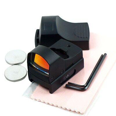 Mini Holographic Reflex Micro 3 Moa Red Dot Sight W  Picatinny Weaver Mount