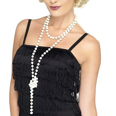 180 cm Lange Perlenkette für Charleston 20er 30er Jahre Damenkostüm Kostüm