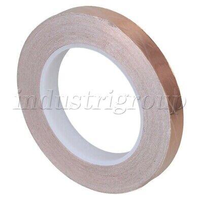 30mx15mm Conductive Adhesive Copper Foil Emi Shielding Shield Tape Single Sided