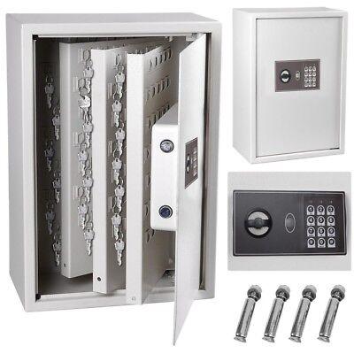 245 Hook Key Safe Security Lock Storage Box Digital Electronic Cabinet Organizer