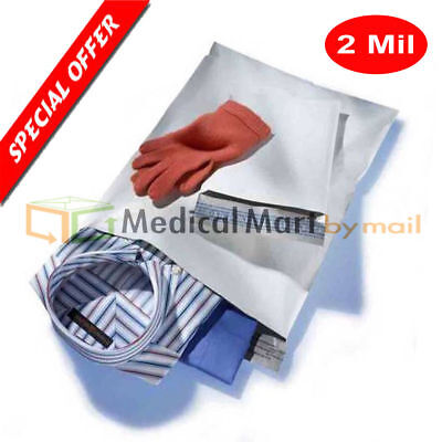 100 12 X 15.5 Poly Mailers Envelopes Shipping Self Seal Bags 12x15.5 2 Mil
