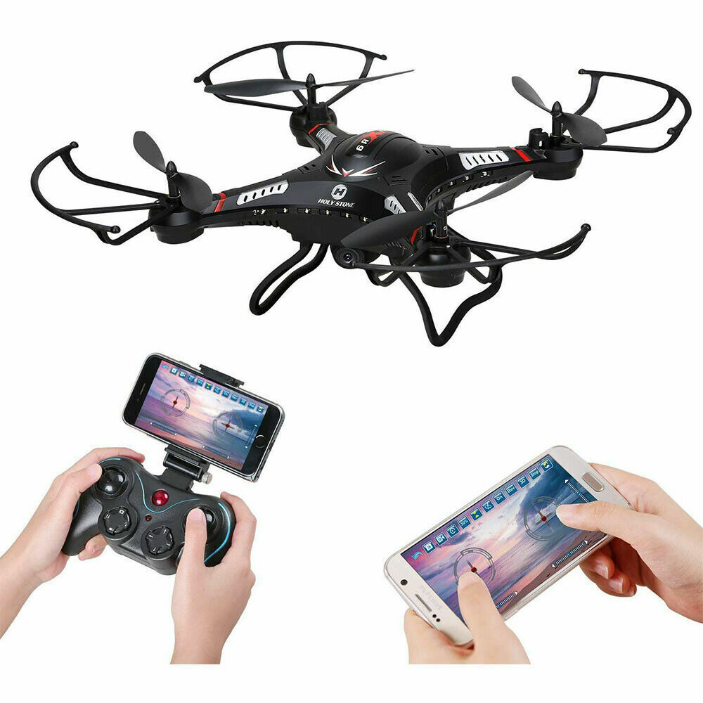Holy Stone F183W FPV Drone with 720P HD Wide Angle Camera 6-Axis RC Quadcopter
