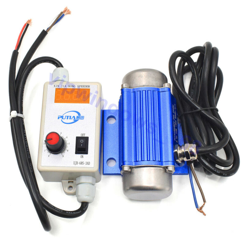 30W 12V DC Brushless Micro Vibration Motor and Speed Display Controller Governor