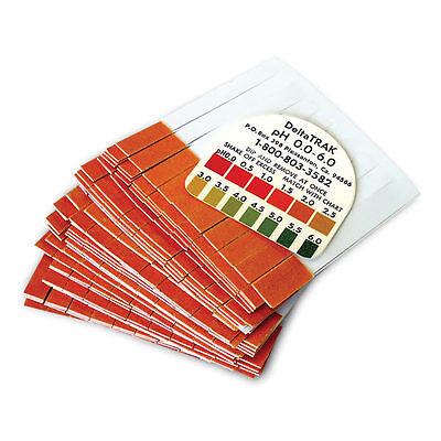 Deltatrak 50012 Ph Plastic Indicator Strips W Chart 300 Strips