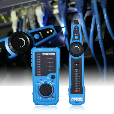 Fwt11 Handheld Wire Tester T-racker Line Finder Cable Testing Tool Network J8u0