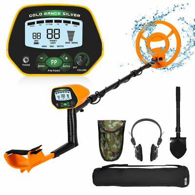 Deep Ground Metal Detector Gold Finder Lcd Display 10inch Waterproof Search Coil
