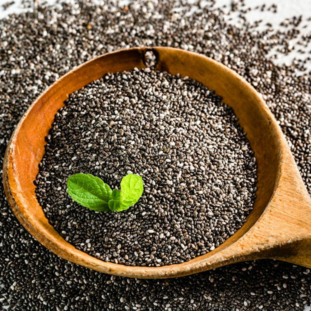 Chia Samen | Chiasamen | Superfood | ohne Zusätze | 100% REINES CHIA | 1kg-10kg