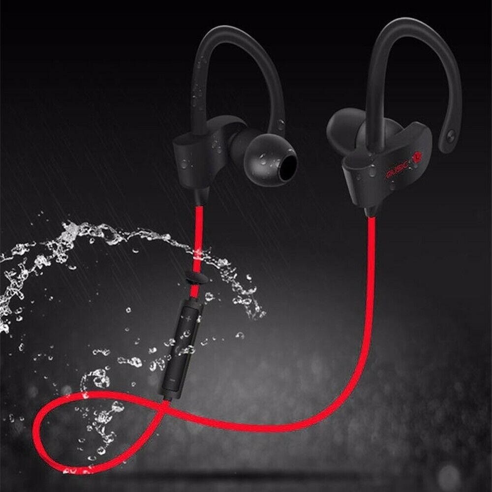 Rechargeable Bluetooth Wireless Headphones Earhook for table