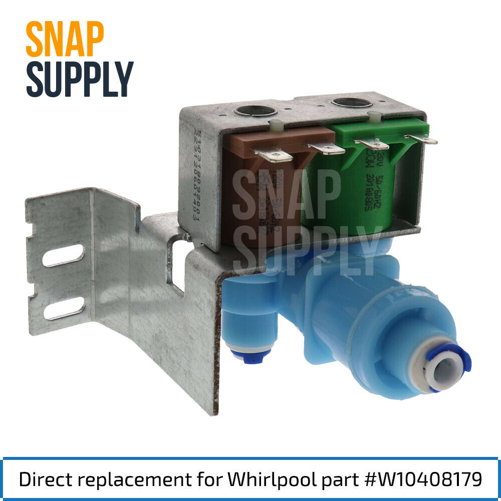 Prysm Water Inlet Valve for Whirlpool Directly Replaces W104