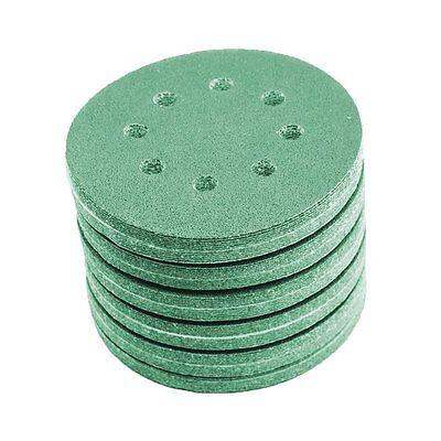 60x Schleifscheiben 125 mm Sortiment SET P400 P320 P240 P220 Exzenter Klett grün