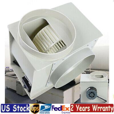 Industrial Pp250 Centrifugal Fan Blower Exhaust Fan Fume Hood Anti-corrosion Usa