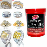 Jewelry Cleaner Solution Safely Clean all Jewelry Gold Silver & Diamonds New