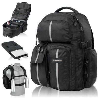 #AUSVERKAUF# Fotorucksack CAMBAG D-SLR Kamera Laptop Foto Camcorder XL Rucksack