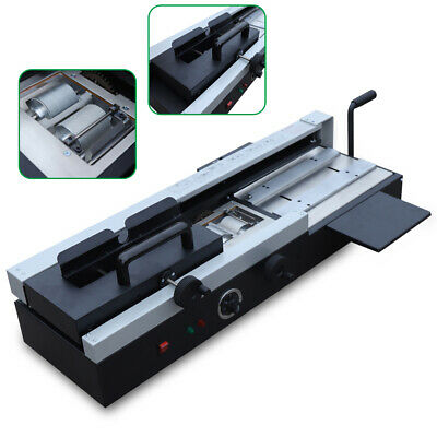 Manual Hot Glue Book Binding Machine 1200w 110v Desktop Office Plastic Binder