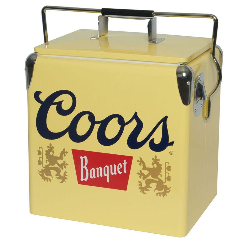 Koolatron CBVIC-13 Official Coors Banquet Design 14 Quart 13 Liter Beer Cooler