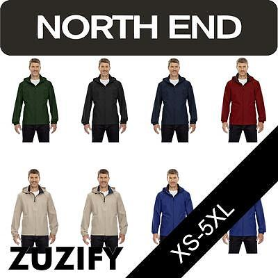 North End Mens Techno Lite Windbreaker Jacket. 88083  Mens Techno Lite Jacket