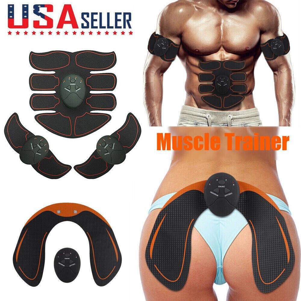 Abdominal Muscle Trainer Stimulator EMS Hip Buttocks Lifter