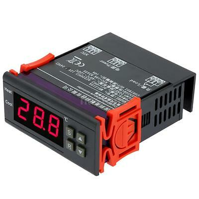 10A 12V Digital Temperature Controller w/Sensor Thermostat Switch -40~120°C US