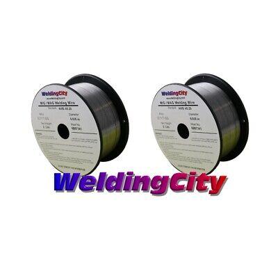 Weldingcity 2 Rolls Gasless Flux-core Mig Welding Wire E71t-gs .035 0.9mm 2-lb