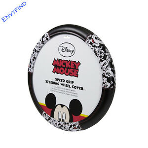 NEW Disney Mickey Mouse Expression Car Truck SUV Speed Grip Steering Wheel Cover