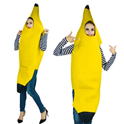 Adult Men Women Carnival Character Party Bar Stage Novelty Banana Dance Suit Top](Adult Banana Suit)
