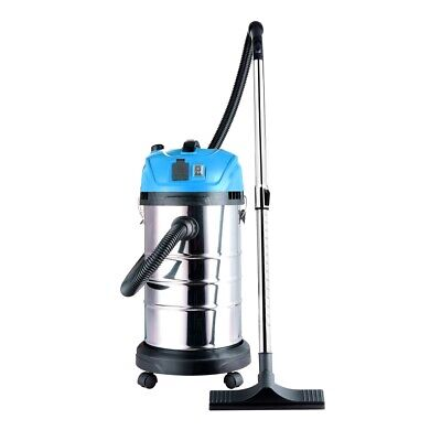 Aleko Lightweight Self-cleaning Wet Dry Vacuum Cleaner 8 Gallons Blue