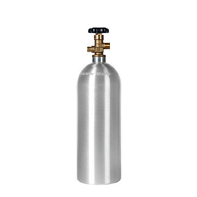 2.5 Lb Co2 New Aluminum Cylinder - Cga320 - Homebrew Beer Soda - Free Shipping