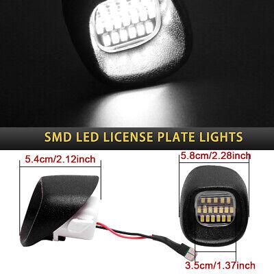 18LED Rear License Plate Bumper Lights For 98-05 Sonoma Blazer S10 Jimmy S-15
