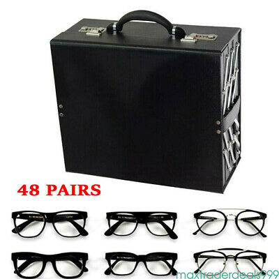 48 Slot Sunglass Eyeglass Box Display Storage Stand Holder Tray Holiday Gift