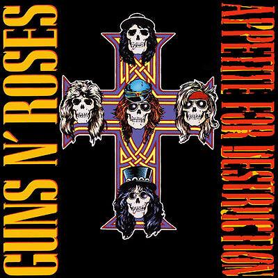 Guns N' Roses - Appetite For Destruction - 180gram Vinyl LP *NEW & SEALED*