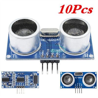 10pcs Arduino Ultrasonic Module Hc-sr04 Distance Sensor Measuring Transducer