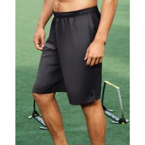 b1cf7d9b Champion Mens Core Training Shorts 80296 Granite Heather L | eBay