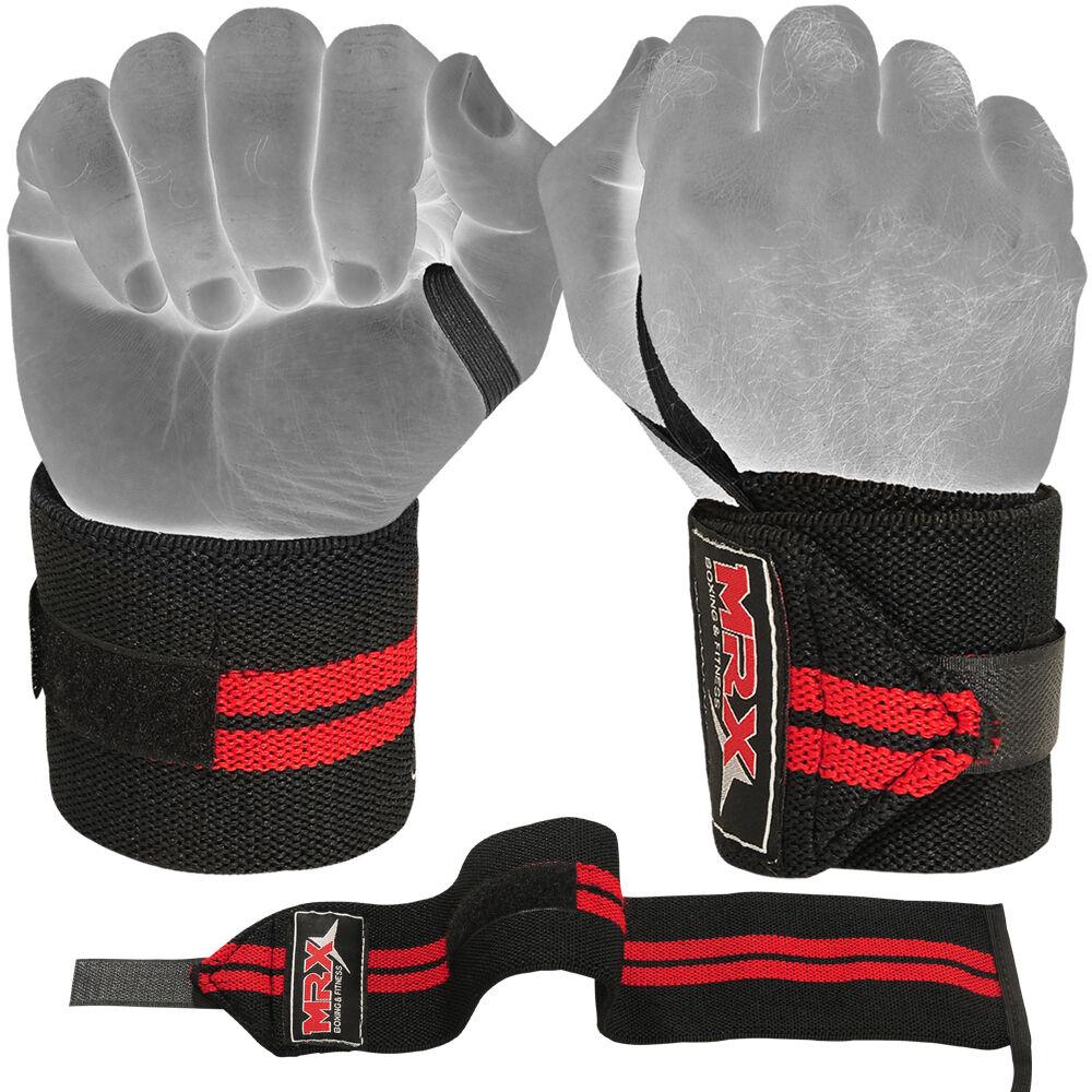 Training Mat Strap: MRX Weight Lifting Training Wraps Wrist Support Gym