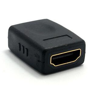 HDMI Coupler Joiner Female Socket to Female Socket GOLD