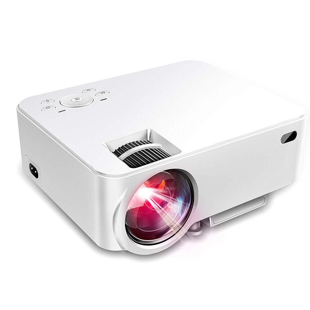 1500 Lumens LCD Mini Video Projector Home Theater USB SD VGA