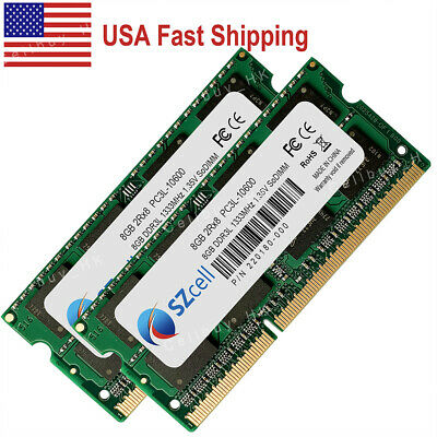 "RAM Memory for Apple Mac mini /""Core i5/"" 2.3 Mid-2011 A13 16GB 2X8GB"