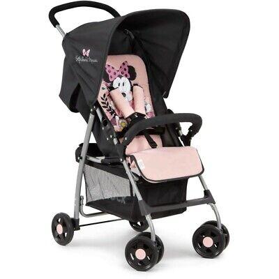 New Hauck Disney Sport Lightweight Pushchair Buggy Pram Minnie Sweetheart Pink