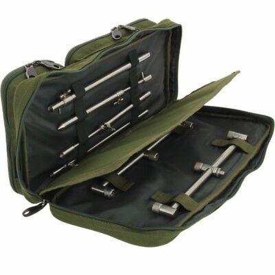 NGT Buzz Bar Bag Pouch for Buzzer Bite Alarm Bank Stick Rod Rest Carp Fishing
