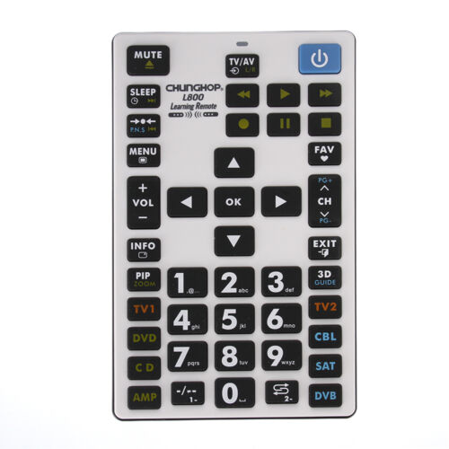CHUNGHOP L800 Universal Learning Remote Control 8 Devices Fo
