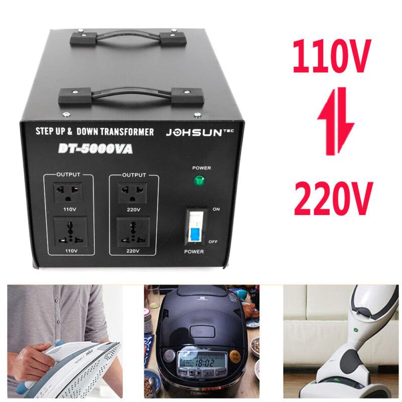 110V-220V Electric Voltage Transformer Volt Inverter Converter Step up/down